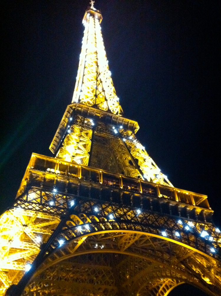 Eiffel Tower Lights Show