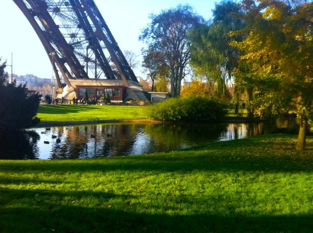 Eiffel Tower Grounds