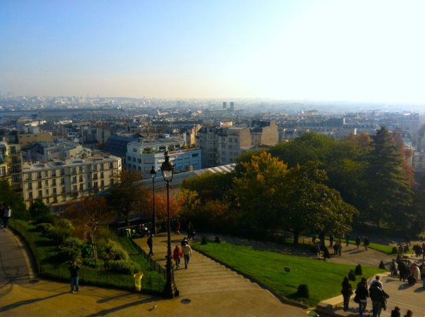 View from Sacre-Couer
