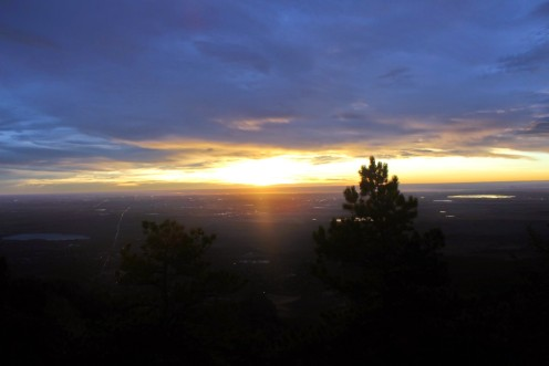 Sunrise hike to the top of Green Mountain, Denver