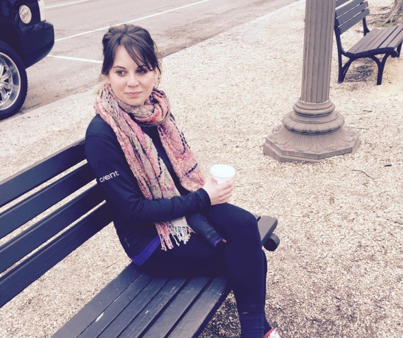 erin and coffee