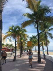 The main strip of Fort Lauderdale Beach