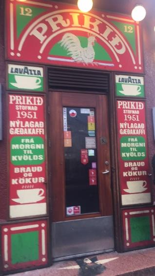 Cafe/Bar in downtown Reykjavik