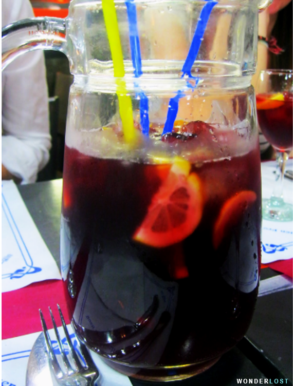 Sangria, Spain, Recipes