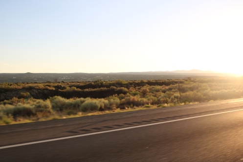 Heading towards Santa Fe, NM