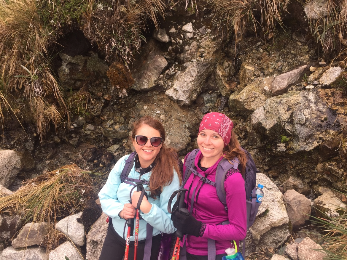 Hikng the Inca Trail